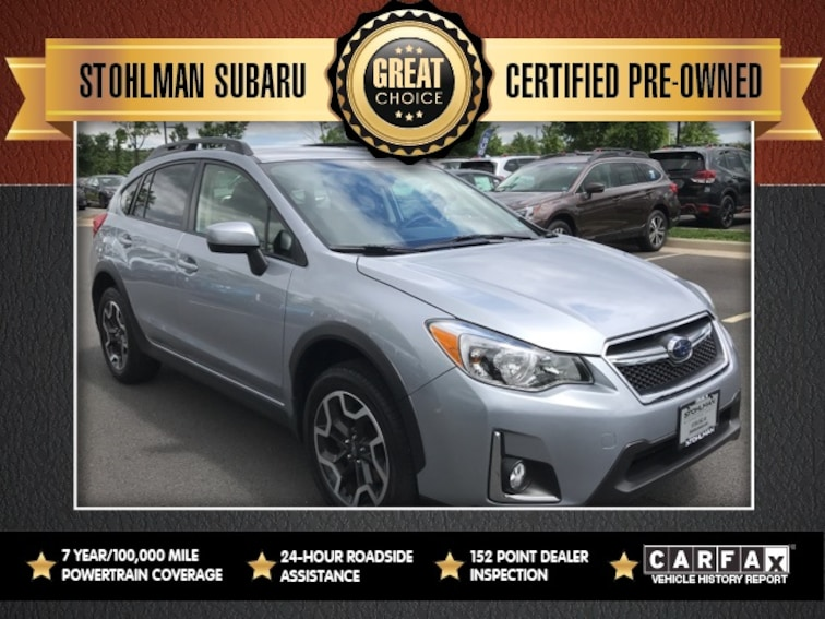 Certified 2017 Subaru Crosstrek 2.0i Premium SUV Sterling, VA