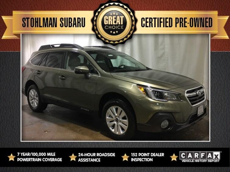 Certified Used 2019 Subaru Outback 2.5i SUV for sale at Stohlman Subaru in Tyson's Corner, VA