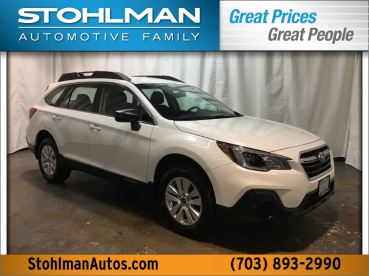 Certified Used 2019 Subaru Outback 2.5i SUV for sale at Stohlman Subaru in Tyson's Corner, VA