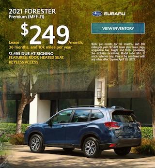 2021 Forester Premium (MFF-11) - $249 Lease