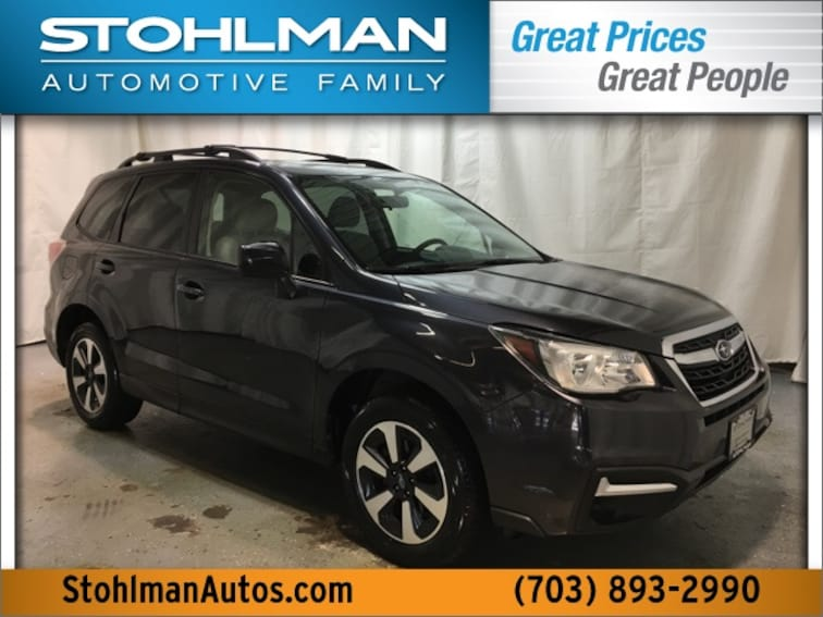 Used 2017 Subaru Forester 2.5i Premium SUV for sale near Fairfax VA