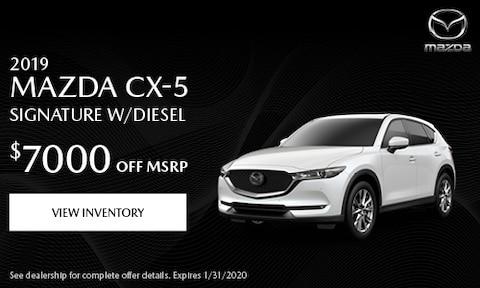 2019 Mazda CX-5 Signature w/Diesel