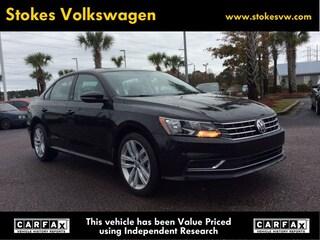 New 2019 Volkswagen Passat 2.0T Wolfsburg Edition Sedan in North Charleston, SC