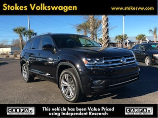 New 2019 Volkswagen Atlas 3.6L V6 SE w/Technology R-Line 4MOTION SUV in North Charleston, SC