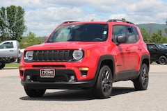 New 2021 Jeep Renegade 80TH ANNIVERSARY 4X4 Sport Utility For Sale in Middlebury, VT