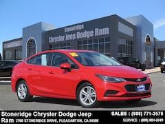 Used 2016 Chevrolet Cruze LT Auto Sedan under $15,000 for Sale in Pleasanton, CA