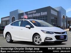 Used 2017 Chevrolet Cruze LT Auto Sedan under $15,000 for Sale in Pleasanton, CA