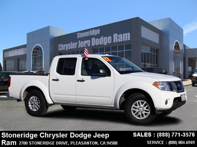 Used 2017 Nissan Frontier Truck Crew Cab Dublin, CA