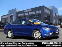 Used 2016 Chrysler 200 Limited Sedan 1C3CCCAB4GN175570 for Sale in Pleasanton, CA