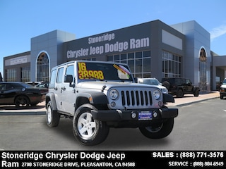 New Chrysler Dodge Jeep Ram Models 2016 Jeep Wrangler Unlimited SPORT S 4X4 Sport Utility for sale in Pleasanton, CA