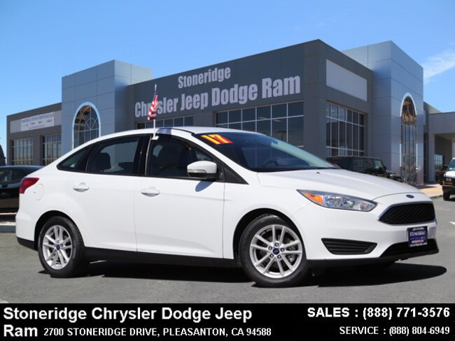 Used 2017 Ford Focus SE Sedan Dublin, CA