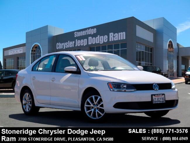 Used 2011 Volkswagen Jetta 2.5L SE Sedan Dublin, CA