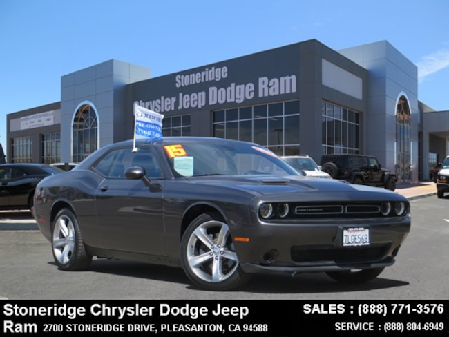Dublin CA 2015 Dodge Challenger SXT Coupe Certified Used