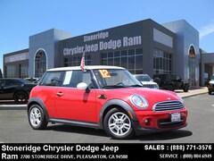 Used 2012 MINI Cooper for Sale in Pleasanton, CA
