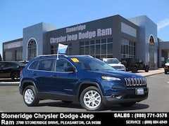 Used 2018 Jeep Cherokee Latitude FWD SUV for Sale in Pleasanton, CA