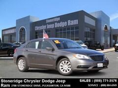 Used 2012 Chrysler 200 Touring Sedan under $15,000 for Sale in Pleasanton, CA