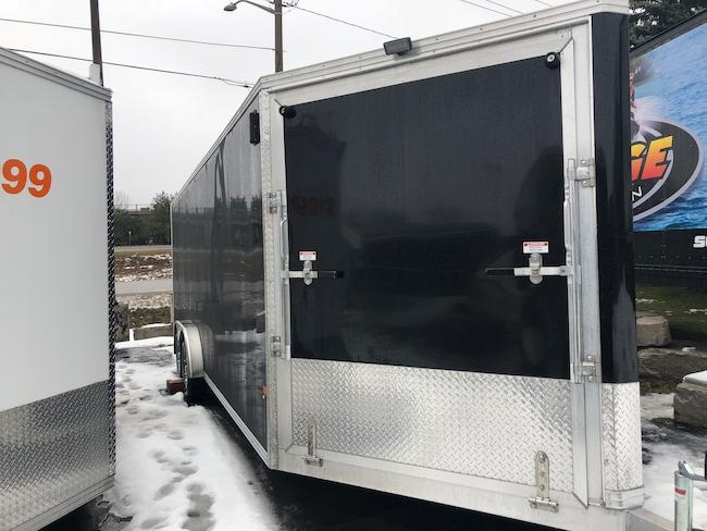 2019 E-Z Hauler EZES 7.5x22 Enclosed Snowmobile Trailer