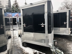 2019 E-Z Hauler EZES 7x18 Enclosed Snowmobile Trailer