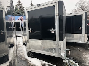 2019 E-Z Hauler EZES 7x18 Enclosed Snowmobile Trailer