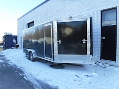 2018 E-Z Hauler EZES 7x18 Enclosed Snowmobile Trailer
