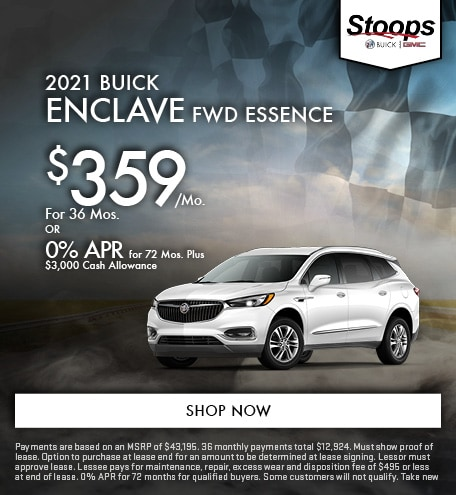 2021 Buick Enclave FWD Essence - May