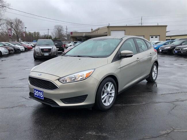 2015 Ford Focus SE BACKUP CAM  BLUETOOTH   CALL NAPANEE 62K Hatchback