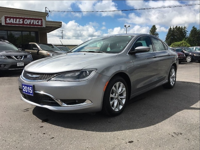 2015 Chrysler 200 C 3.6L/LEATHER/ROOF/NAVI CALL NAPANEE 58K Sedan