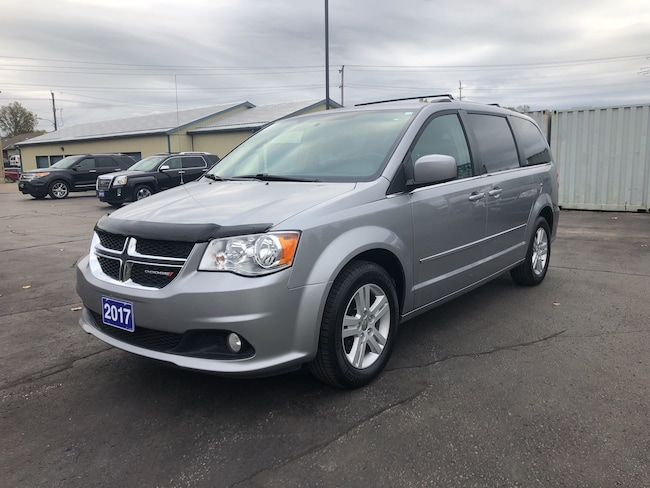 2017 Dodge Grand Caravan Crew CALL PICTON 55K Minivan