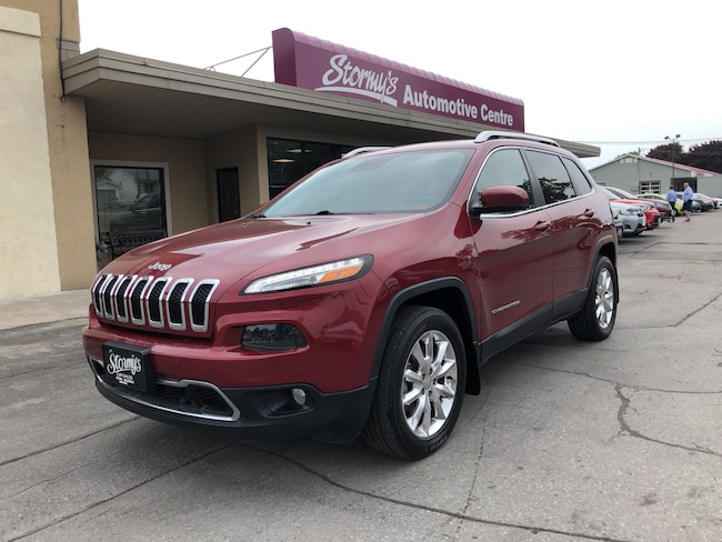 2015 Jeep Cherokee Limited AWD LEATHER/ROOF/NAV CALL BELLEVILLE 81KM SUV