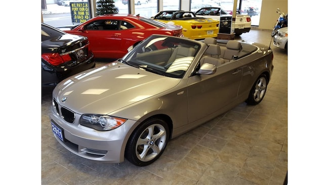 2011 BMW 128I CONVERT/6-SPEED/3.0L CALL BELLEVILLE 119K Convertible
