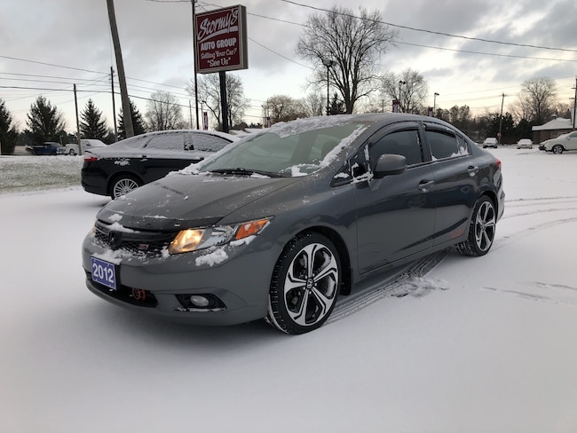 2012 Honda Civic Si SPORT 6-SP CALL BELLEVILLE 146K Sedan