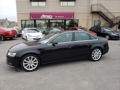 2013 Audi A4 2.0T QUATTRO PREM+LEATHER/NAV/ROOF CALL BELLEVILLE Sedan