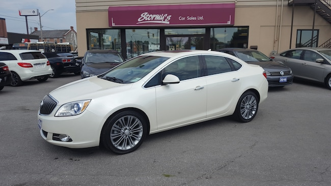 2014 Buick Verano LEATHER PKG/ROOF/NAV CALL BELLEVILLE 61K Sedan