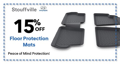 15% OFF Floor Protection Mats