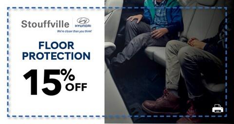 15% Floor Protection
