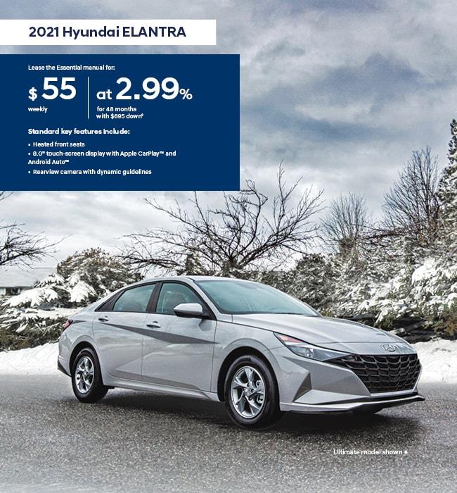 2021 Hyundai Elantra I Love Winter Promotion