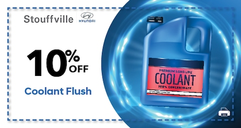 10% OFF Coolant Flush