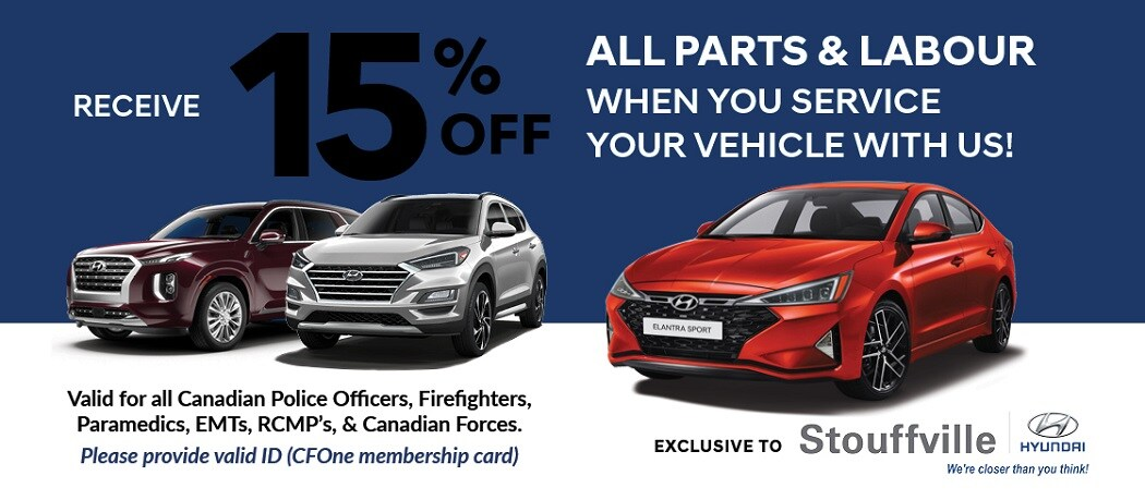 Hyundai Parts Loyalty Program | Stouffville Hyundai