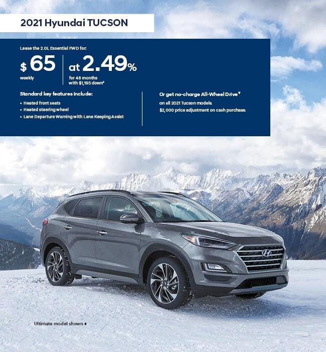 2021 Hyundai Tucson I Love Winter Promotion