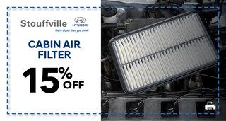 15% Cabin Air Filter