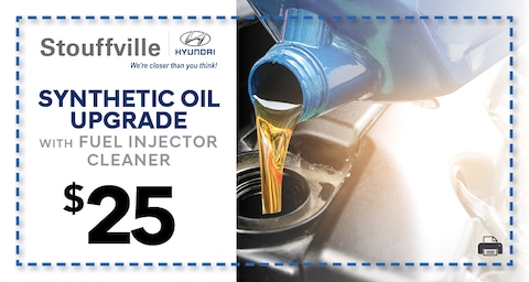Synthetic Oil Upgrade with Fuel Injector Cleaner