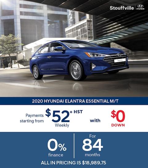 2020 Hyundai Elantra Clearout Sale
