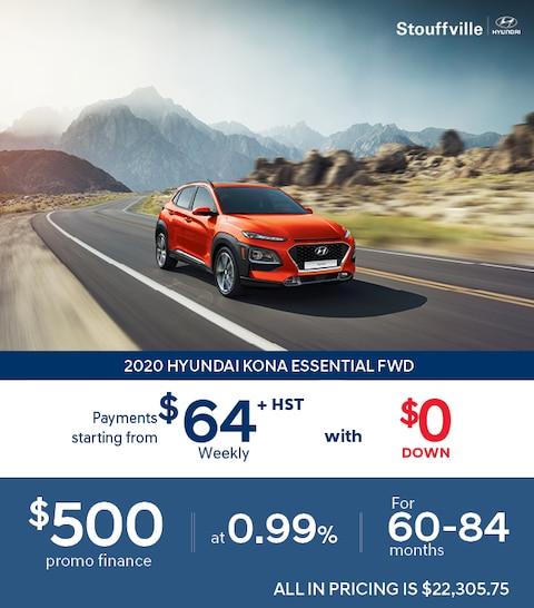 2020 Hyundai KONA Clearout Sale