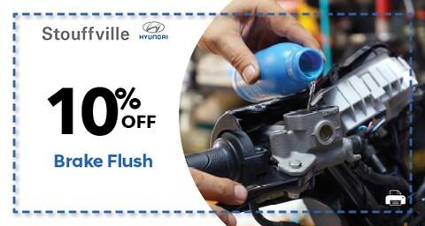 10% OFF Brake Flush