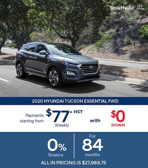 2020 Hyundai Tucson Sale