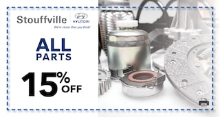 15% off all Parts!