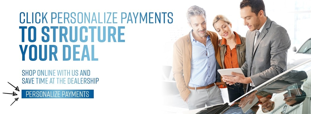 Click Personalize Payments - ALTA NISSAN in Woodbridge, ON