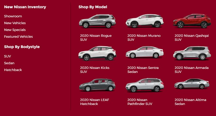 Browse Our Inventory - ALTA NISSAN in Richmond Hill, ON