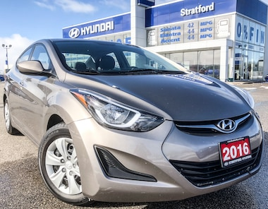 2016 Hyundai Elantra L LOCAL TRADE with only 89KM'S!! SEDAN .