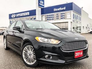 2014 Ford Fusion LOCAL TRADE!  ALL WHEEL DRIVE LOADED! SEDAN .